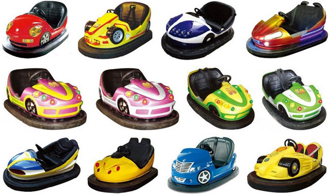 kinds of battery bumper cars for kids and adults