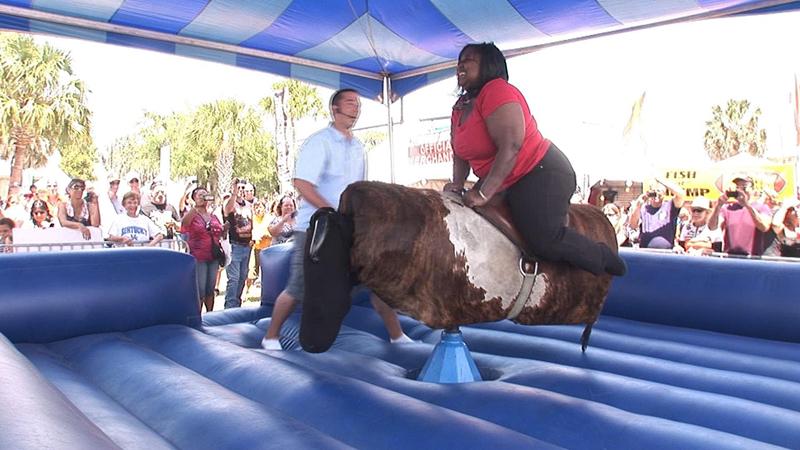 carnival fun mechanical bull