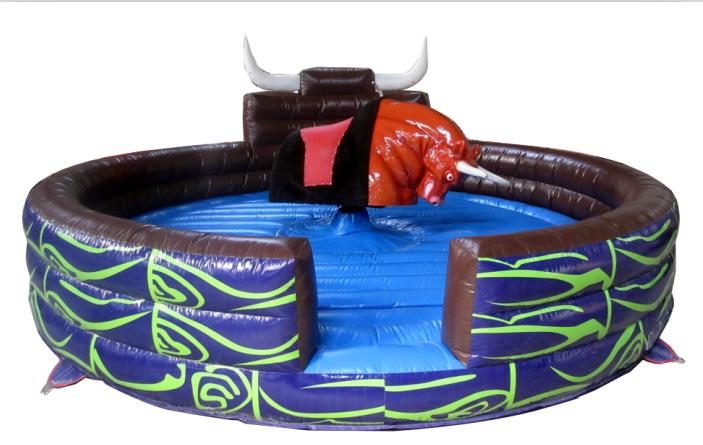 inflatable cushion mechnaical bull rides