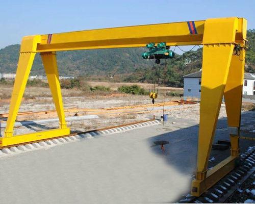 10t electric hoist gantry crane for sale