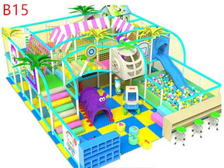 Playground equipment for indoor use