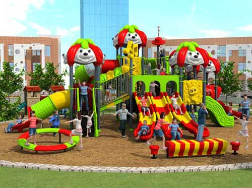 Kids playground equipment for outdoor