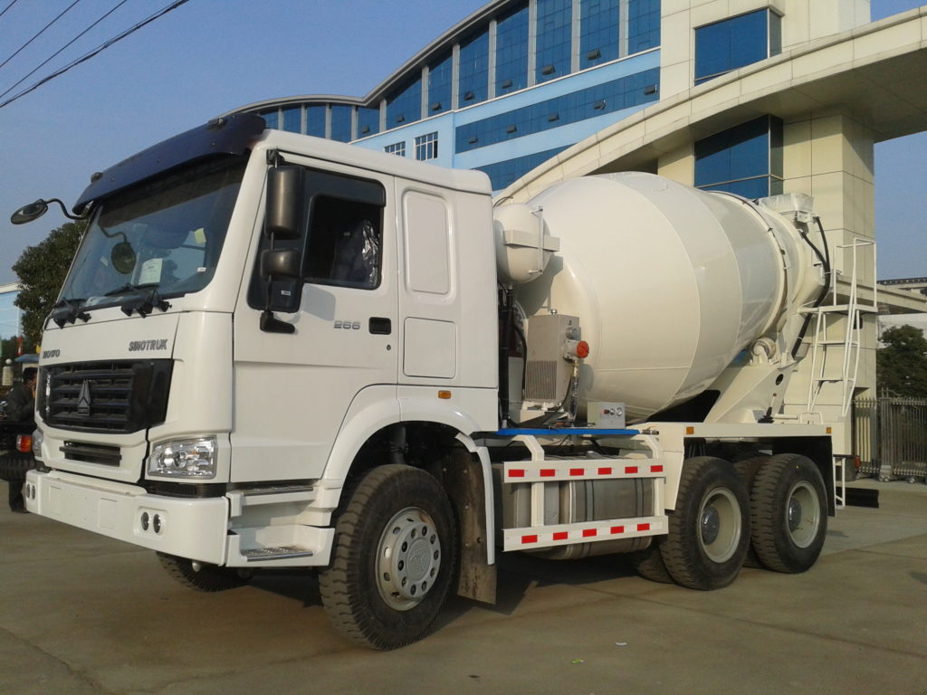 redi mix cement truck