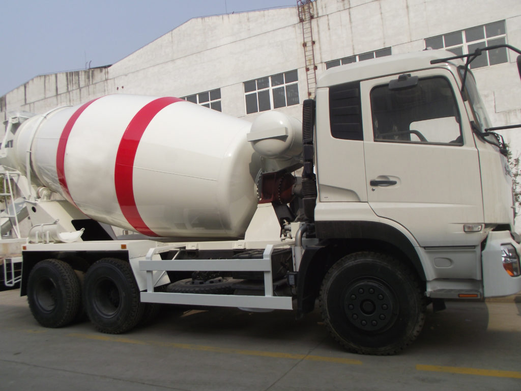 trailer cement mixer truck for sale