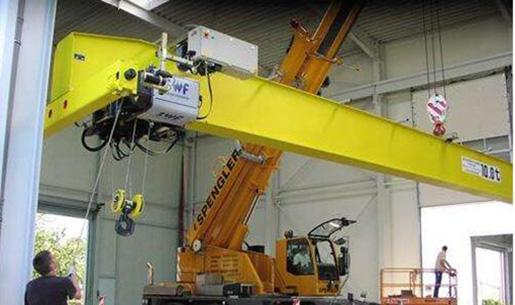Overhead crane monorrail