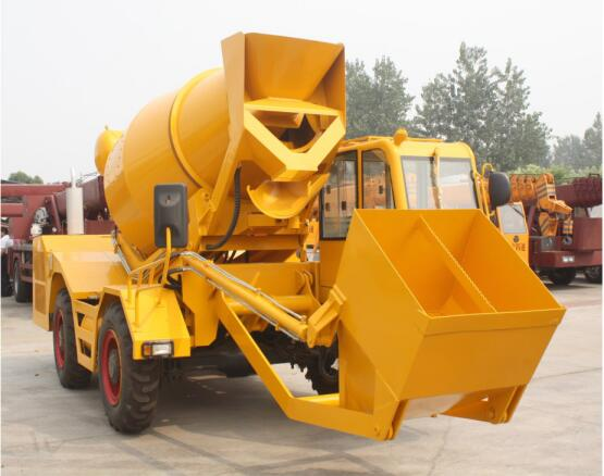 AIMIX Self Loading Mixer Truck